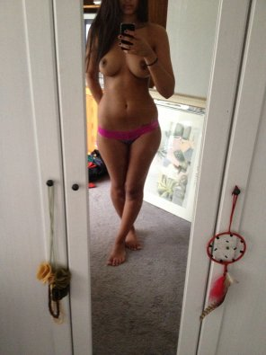 amateur photo Standard topless selfie