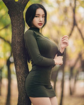 amateur photo Korean sweater puppies