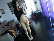 Pale tattooed amateur