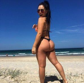 amateur photo Australian bum