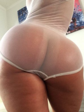 amateur photo Tanned buns...