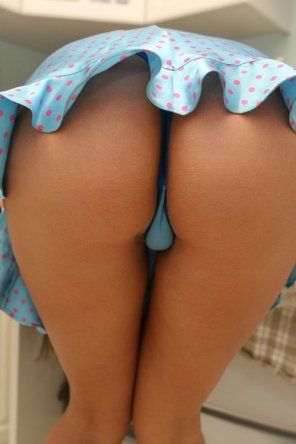 amateur photo Cute...skirt