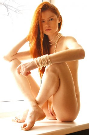 amateur photo Pretty in pearls