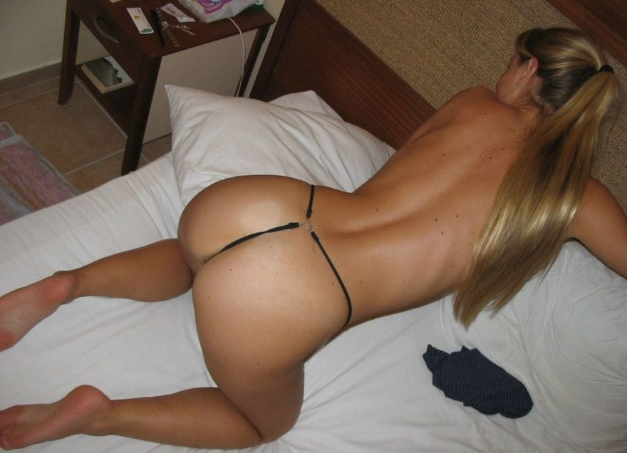 On her Bed Porn Photo