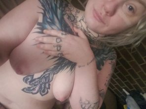 amateur photo My tits are really enjoying pregnancy so far
