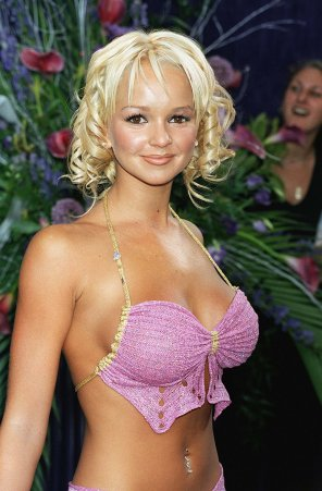 amateur photo British soap actress/popstar Jennifer Ellison