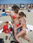 amateur photo Being at the beach does this to some girls.