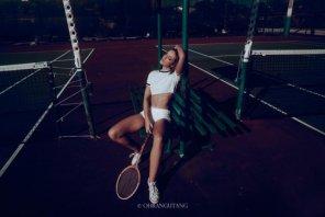 amateur photo What a racket