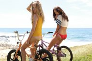 Bicycle Beach Girls