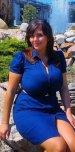 amateur photo Blue dress