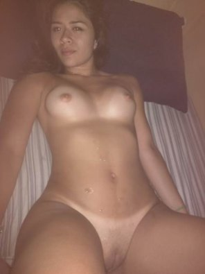 amateur photo Latina of the night