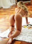 amateur photo Gorgeous Blonde on All Fours