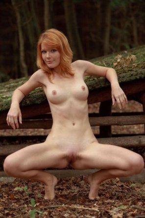 amateur photo Ginger spread...