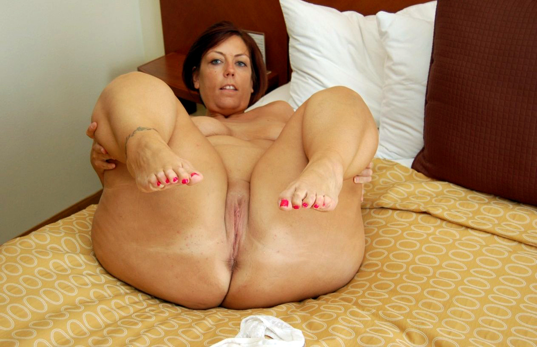 Are legs and ass spread milf pussy understood