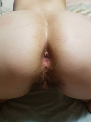 amateur photo My freshly fucked ass by my girlfriend's husband