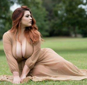 amateur photo No clever title, just big tits