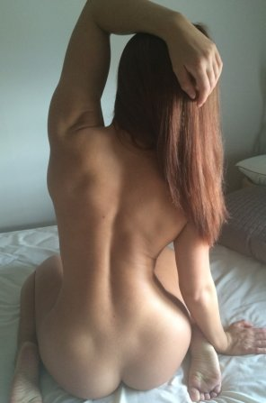 amateur photo Beautiful Shapely Behind