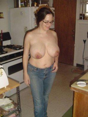 amateur photo Big nipples...