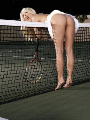 amateur photo Tennis Upskirt