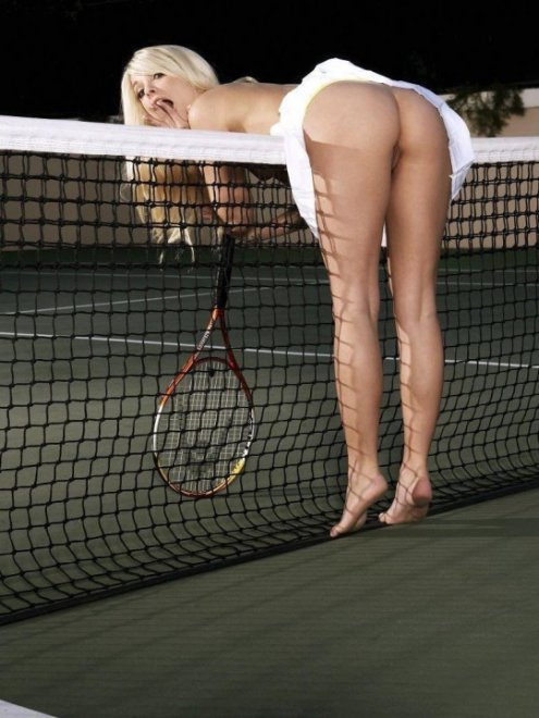 Tennis Upskirt Porn Photo