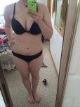 amateur photo black lingerie