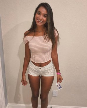 amateur photo PictureCrop Top and Shorts