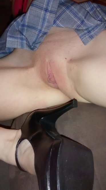 shaved pussy Porn Photo