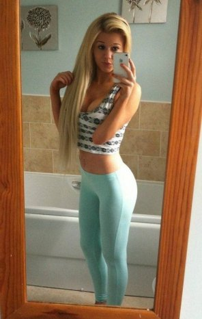 amateur photo Hot Blonde