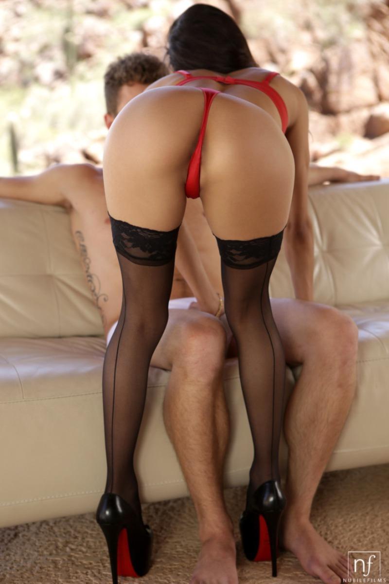 red heels porn
