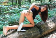 amateur photo Annabelle Angel in the woods