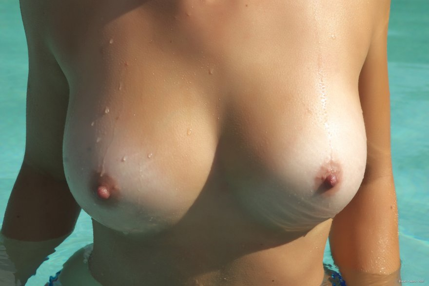 In the pool Porn Photo