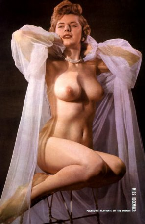 amateur photo Playboy, Miss December 1954, Terry Ryan