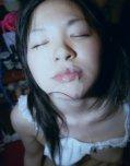 amateur photo Facial cumshot for cute asian teen girl