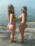 amateur photo Beach butts
