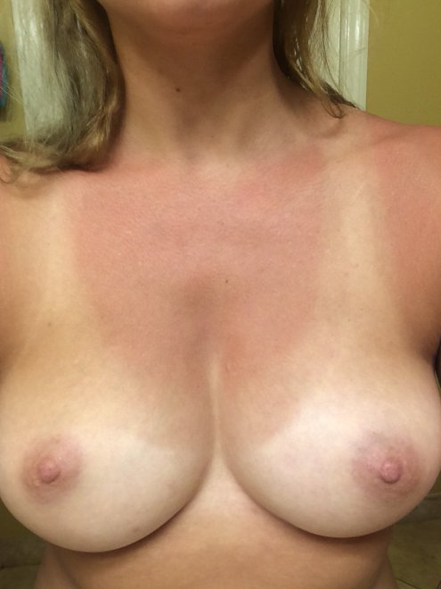 Don't you love tan lines, babe? Porn Photo