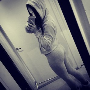 amateur photo Pants and hoodie