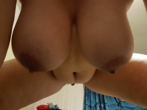 amateur photo Tell me do you want to be behind or me on top