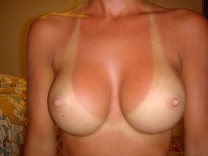 amateur photo Perfect Tanlines on Perfect Tits