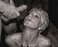 amateur photo Milf gets her face cummed