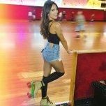 amateur photo Kyra Santoro in knee highs