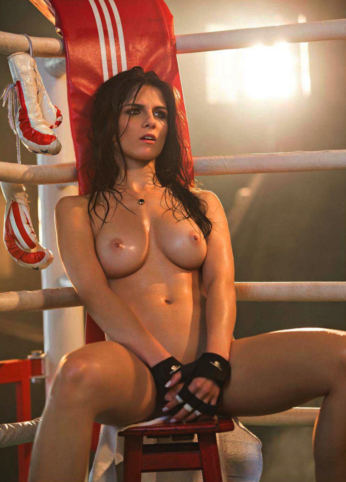 Speaking Naked girls of the ring