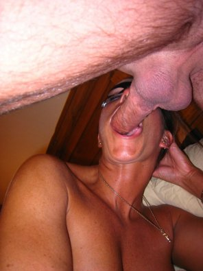 amateur photo Milf sucking Cock