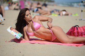 amateur photo Beauty and the beach