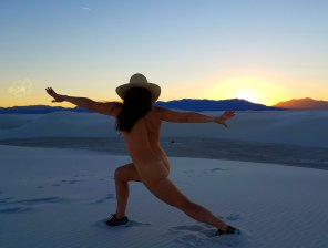 amateur photo A [f]ew hours after the government shutdown ended and White Sands NM reopened - bucket list ✔ [AIC] 🌹