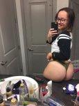 amateur photo What an ass