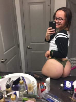 amateur photo What an ass