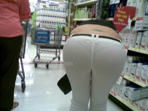 amateur photo See through pants