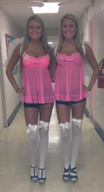 Twins Porn Photo