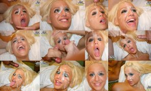 amateur photo Blonde Bimbo Babe Jayna James - Multi pics