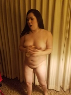 amateur photo my girl getting ready for a night in Vegas